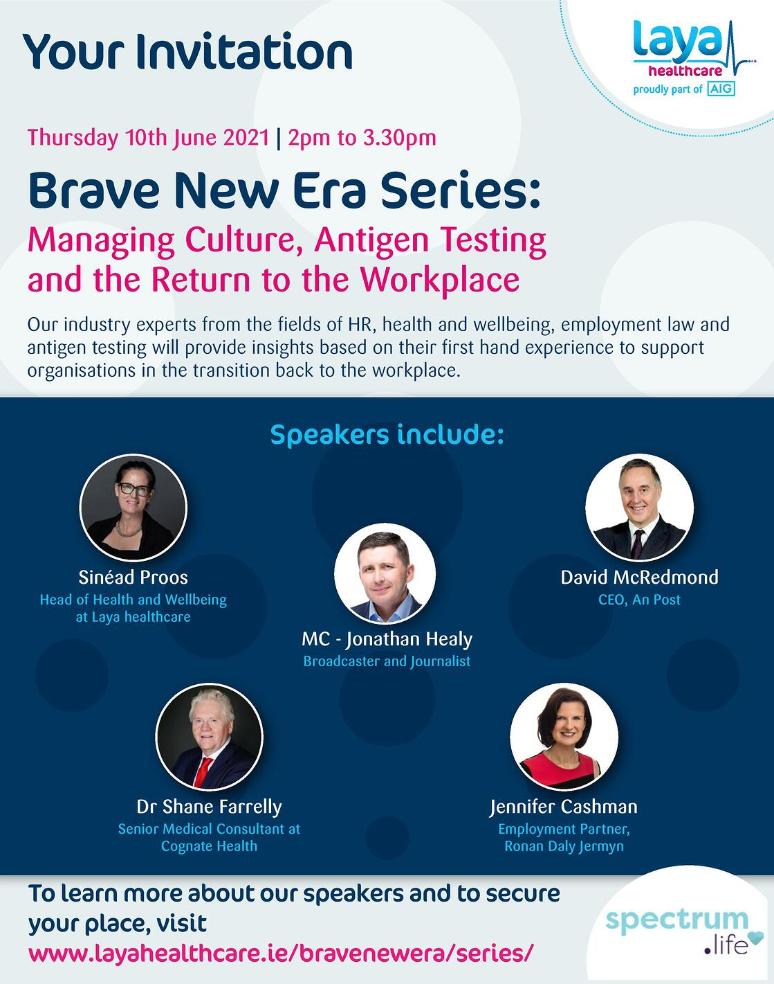Managing Culture Antigen Testing And Return To The Workplace Invite Page 001